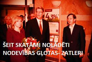 zATLERS, kARGINS, bOROVKOVS, gODMANIS