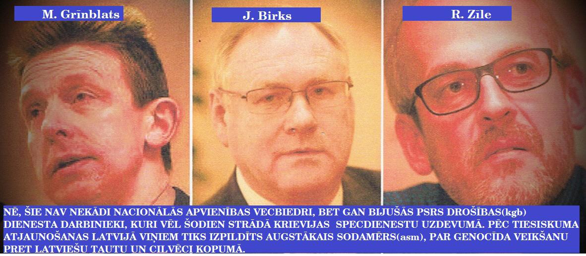 R. Zīle, J. Birks, M. Grīnblats, LR, SAB, DP, LRTT.
