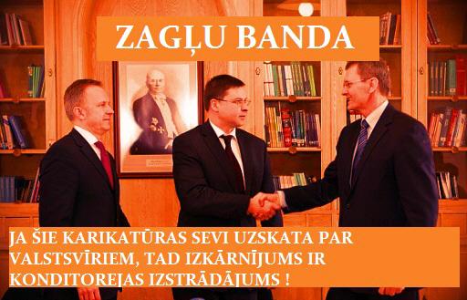 Rimšēvics, Dombrovskis, Vilks