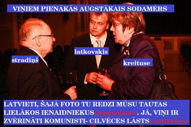Stradiņš, Latkovskis, Kreituse.