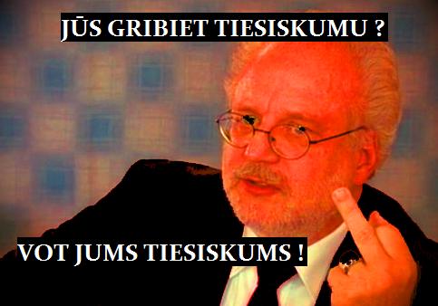 E.Levits, Tiesiskums, LRTT