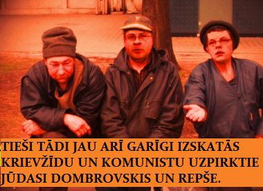 Dombrovskis, Priedītis,Repše, Reiniks, Saeima
