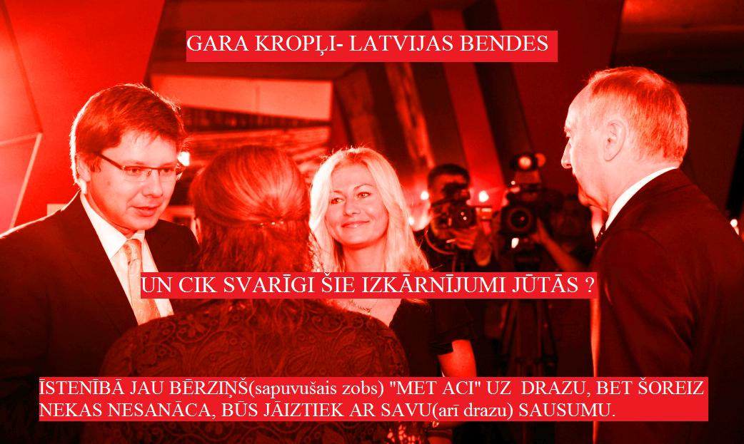 Prezidents, Bērziņš, Ušakovs, Sausuma, Iveta Strauriņa.