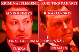 Reiniks, Kozlovskis, Vējonis, Dombrovskis