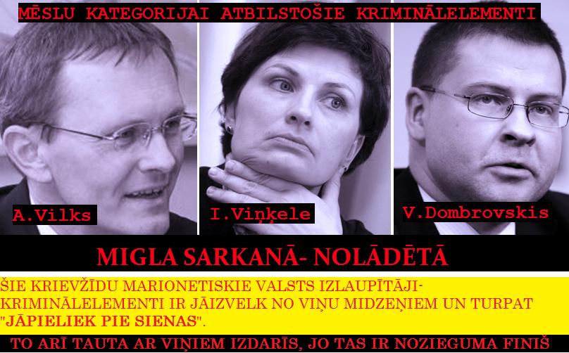 A.Vilks,V.Dombrovskis,I.Viņķele,Saeima,LRTT