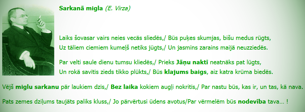 Eduards Virza, Jānis Rainis