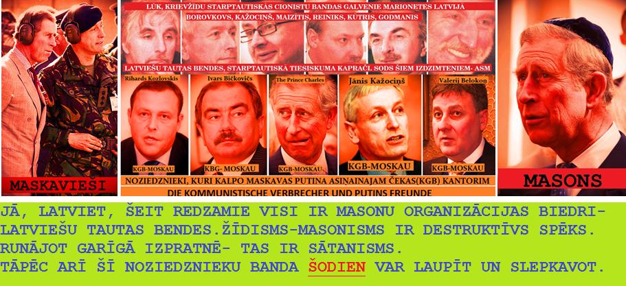 Kažociņš, Reiniks, Bičkovičs, Belakoņ, Godmanis, Princis Čarlzs,