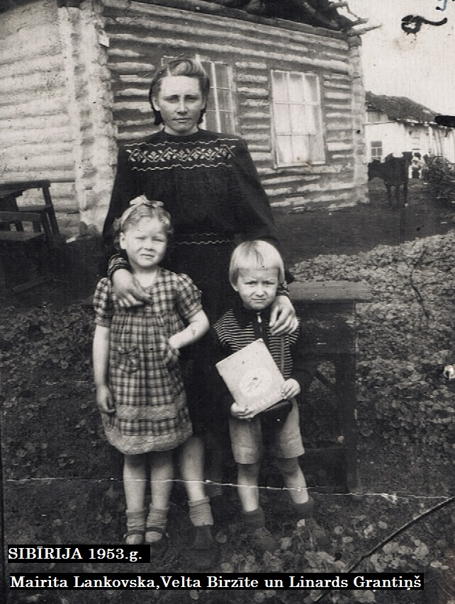 Mairita Lankovska, Velta Birzīte un Linards Grantiņš
