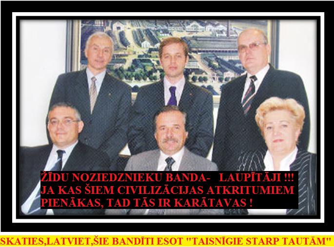 12. Sesks,Žīdi,Putins,Reiniks, Āboltiņa.Segals, Zaharjins,PNG