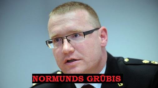 nORMUNDS gRŪBIS, Liepāja , policija