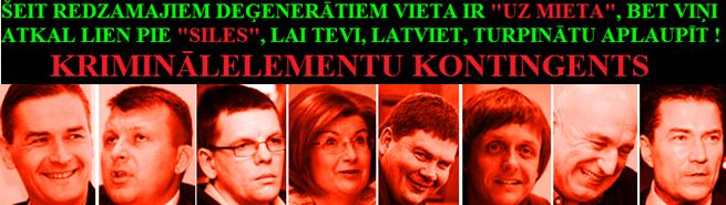 Bondars,Šlesers, Godmanis, Sudraba,Jaunups, Kalvītis, Repše,Žagars, Reiniks, DP, Saeima,noziedznieki.