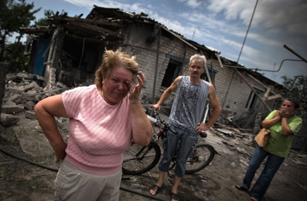 Lugansk, Krievi,bandīti