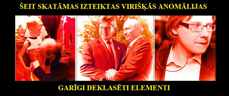 Nils Ušakovs, Vladimirs Putins, Zatlers, Cimdars, Krievija, Kremlis.