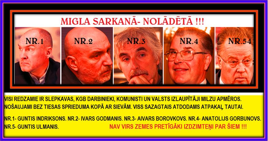 GUNTIS ULMANI,IVARS GODMANIS,GUNTIS INDRIKSONS,AIVARS BOROVKOVS, LRTT,KGB.