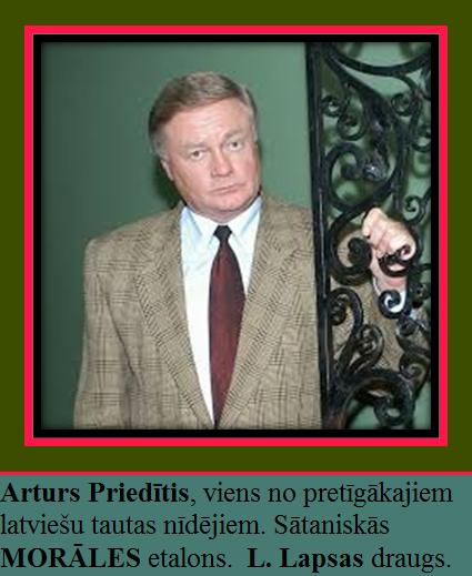 Arturs Priedītis. Lato Lapsa. Mežviets. DP. Latvija,krievija
