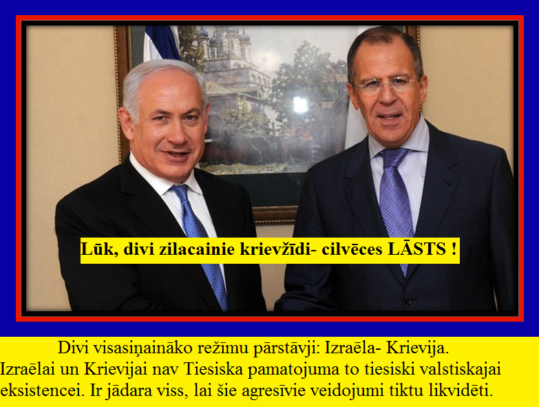 Izraēla, krievija, Lavrovs, Netanjao