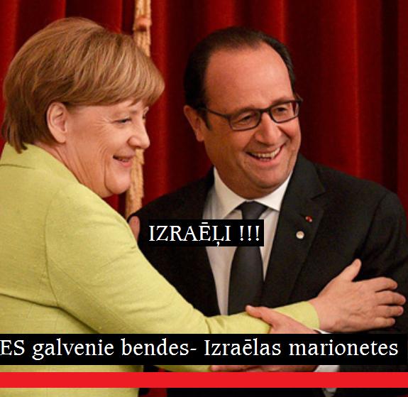 Fransua Olands.Angela Merkel, LRTT, Deutschland