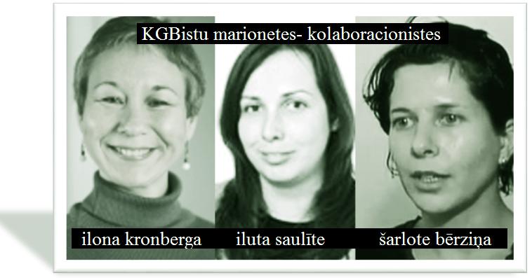 Ilona Kronberga, Šarlote Bērziņa, Iluta Saulīte.Kozlovskis.LRTT.