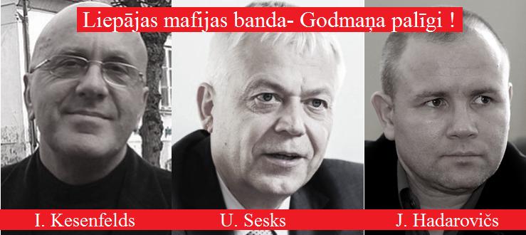 Ivars Kesenfelds. Jurijs Hadarovičs. Uldis Sesks. LRTT