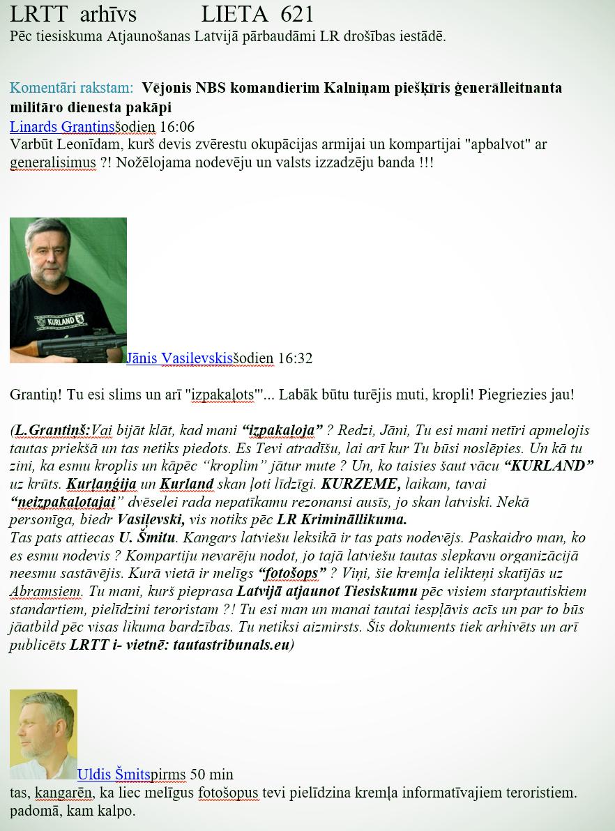 LRTT.Grantiņš.J. Vasiļevskis. U. Šmits